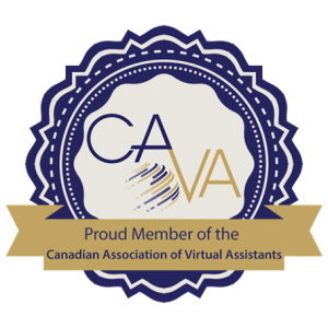 Boccone Creative is a proud member of the Canadian Association of Virtual Assistants.